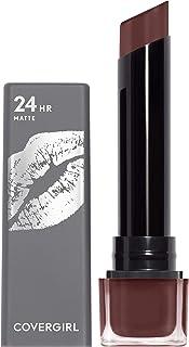 COVERGIRL Exhibitionist 24 Hour Ultra Matte Lipstick, Watch Me, 3.5g