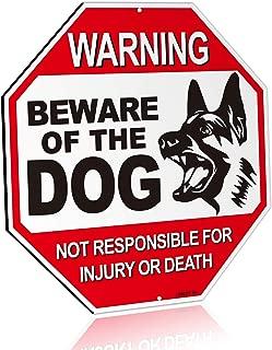 beware of dog sign german shepherd