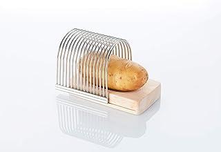 Point-Virgule Coupe Pomme de Terre pour Hasselback Potato ou Coupe légumes, outels de Cuisine, 13.5 x 9.5 x 10.5 cm