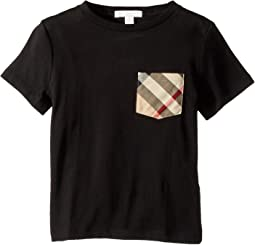 Short Sleeve Tee w/ Check Pocket (Little Kids/Big Kids)