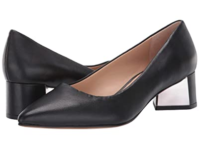 Franco Sarto Global (Black Leather) Women