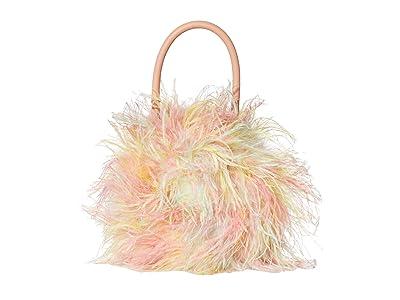 Loeffler Randall Zadie Feather Circle Tote (Tie-Dye) Tote Handbags