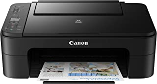 Canon PIXMA E3370 All-in-One Wireless Ink Efficient Color Printer (Black)