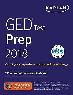 GED Test Prep 2018: 2 Practice Tests + Proven Strategies (Kaplan Test Prep)