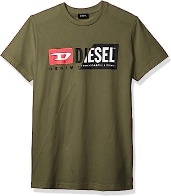 Diesel T-Diego CUTY Camiseta Verde Militar