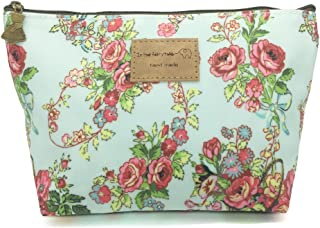 HUNGER Flower Print Make-Up Cosmetic Tote Bag Carry Case, 14 Patterns (P1141705)