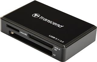 Transcend TS-RDF9K Lettore di Schede UHS II, USB 3.1, Nero