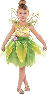 Suit Yourself Classic Tinkerbell Halloween Costume for Toddler Girls, Includes Wings