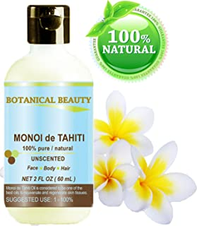 MONOI DE TAHITI OIL 100% Pure / Natural. Cold Pressed /