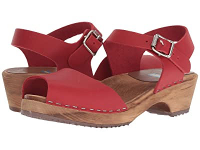 MIA Anja (Red Leather) Women