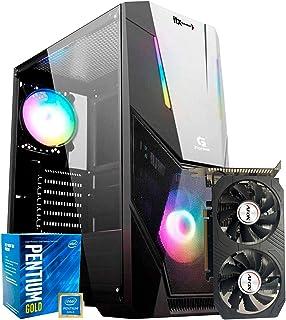 Pc Gamer ITX Arena Setup, Pentium G5420 3,7GHz, Radeon RX 560 4GB, 8GB DDR4, SSD 240GB, Gabinete Gamer RGB