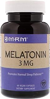 MRM, Melatonin, 3 mg, 60 Vegan Capsules