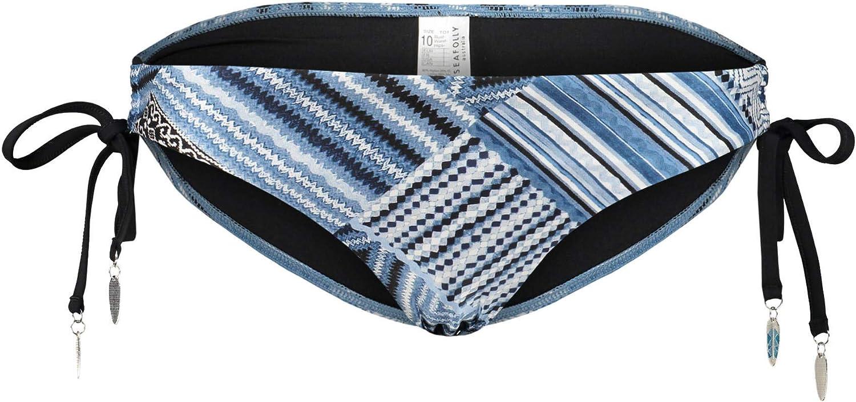 Seafolly Women's Standard Loop Tie Side Hipster Bikini Bottom Swimsuit