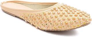 Shree Balaji Footwear EVA Slip-On Fashion Sandal For Women and Girls (SBFG0029-Beige-5)