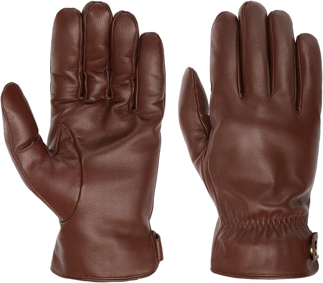 Stetson 供え Conductive Leather - Men メーカー公式 Gloves