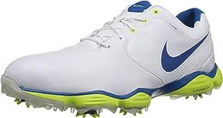 Nike Golf Men's Nike Lunar Control II-M, White/Venom Green//Military Blue 14 M US