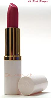 Estee Lauder Pure Color Long Lasting Lipstick Creme or Shimmer, .13 oz / 3.8 g Full Size (61 Pink Parfait (Shimmer) White Tube)