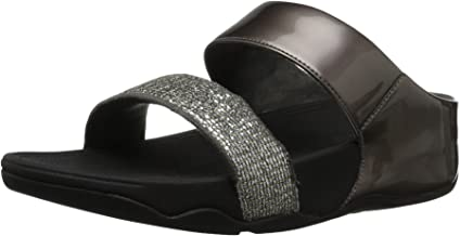 FitFlop Women's Lulu Superglitz Slide Sandal