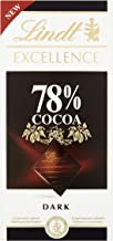 Lindt Excellence dark chocolate Full-bodied 78% (3 x 100g)