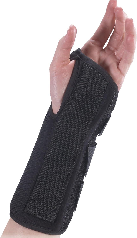 Bilt-Rite Mastex Health 8 Inch Ranking TOP6 Black sold out Wrist Right Premium Brace