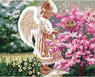 """DIY Paint by Numbers Kit for Angel - Unicorn 