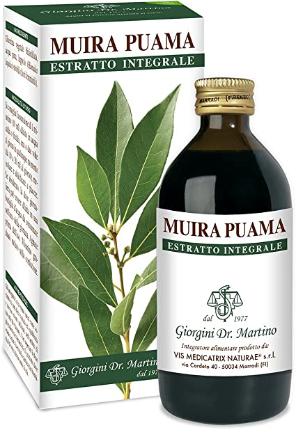 Dr Giorgini Muira PUAMA Whole Extract 200 ml