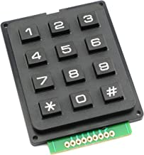 Tegg 1PC 3x4 Keypad MCU Board Matrix Array Switch Tactile Keypad 12 Button Phone-Style Matrix Keypad for Arduino Raspberry Pi