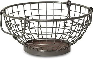 Spectrum Diversified Vintage Fruit Bowl, Industrial Gray