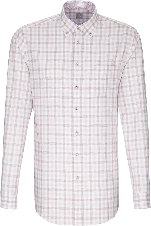Jacques Britt Herren Business Hemd Custom Fit Langarm Button-Down-Kragen Button-Down-Kragen Button-Down-Kragen Bügelleicht B07FZDNNND  Gewinnen Sie das Lob der Kunden a5ad1a