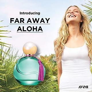 Avon Far Away Aloha Eau de Parfum Spray,a floral that embodies the essence of warm sunshine with tropical mandarin zest, i...