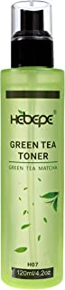 Hebepe Green Tea Matcha Facial Toner, Alcohol-Free, Refreshing, Moisturizing, and Soothing Face Toner, with Hyaluronic Aci...