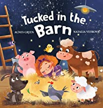 Tucked in the Barn: Bedtime Rhyming Book About Farm Animals