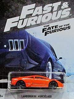 Hot Wheels Fast and Furious 2018 Series Orange Lamborghini Murcielago DIE-CAST, Fast and Furious LAMORGHINI DIE-CAST