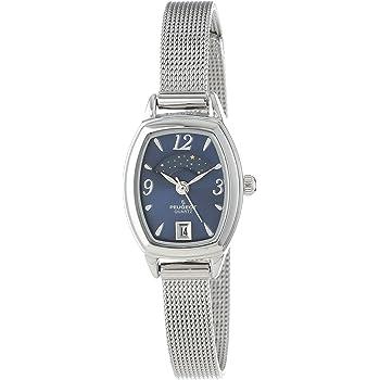 [プジョー] Peugeot 腕時計 Women's Silver-Tone Mesh Bracelet Moon Phase Watch クォーツ 712BL レディース [並行輸入品]