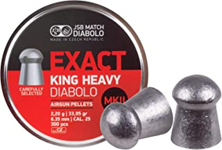 JSB Match Diabolo Exact King MKII Heavy .25 Cal