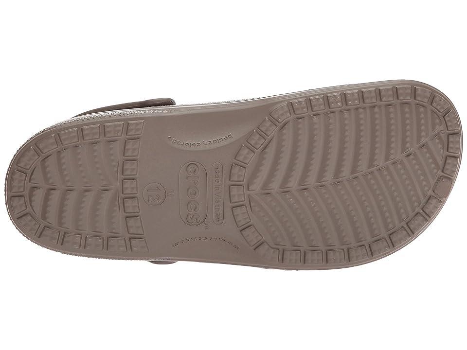 Crocs Ralen Lined Clog (Walnut/Oatmeal) Slippers, Tan