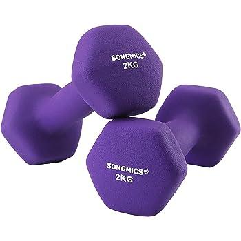 Anself PU Mancuernas Forma /única Dumb Bell P/érdida de peso adelgazante Pesas Equipo de ejercicios