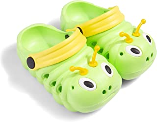 Baby Girls Boys Sandals Kid's Cute Lightweight Shoes Summer Premium Cartoon Sandals Children Caterpillar Non-Slip Beach Wa...