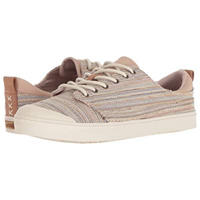 Reef Walled Low TX (Tan Multi Lines) Women