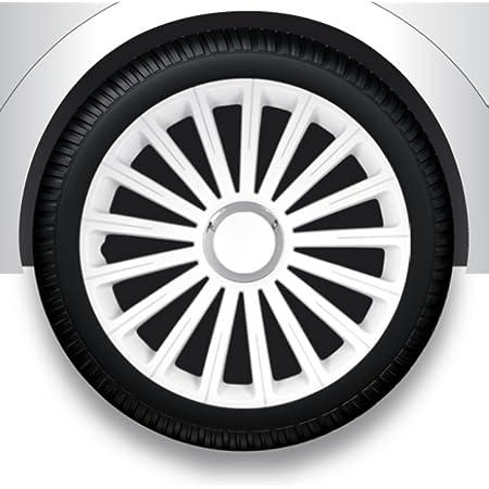 Radzierblenden Radkappen Radabdeckung 15 Zoll 32 Weiß Abs Auto