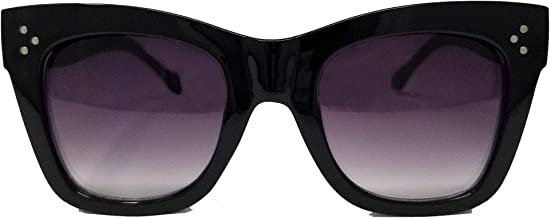 Image Labs Chunky Cat Eye Horn Rimmed Sunglasses IL1024
