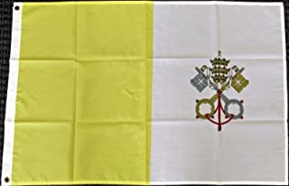 M 3x5 Vatican City Flag Holy See Papal State Pope Rome Italy Roman Catholic Church