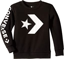 Appliqued Star Chevron Crew (Toddler/Little Kids)