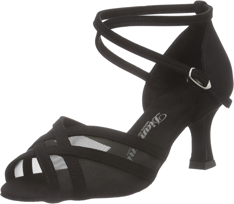 Diamant Damen Latein Tanzschuhe 035-077-040, Women's Ballroom Dance shoes