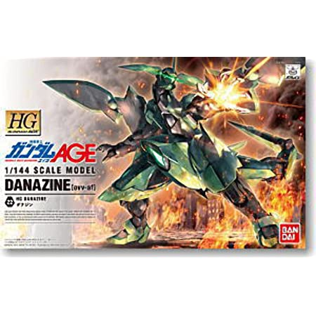 HG 1/144 ダナジン プラモデル