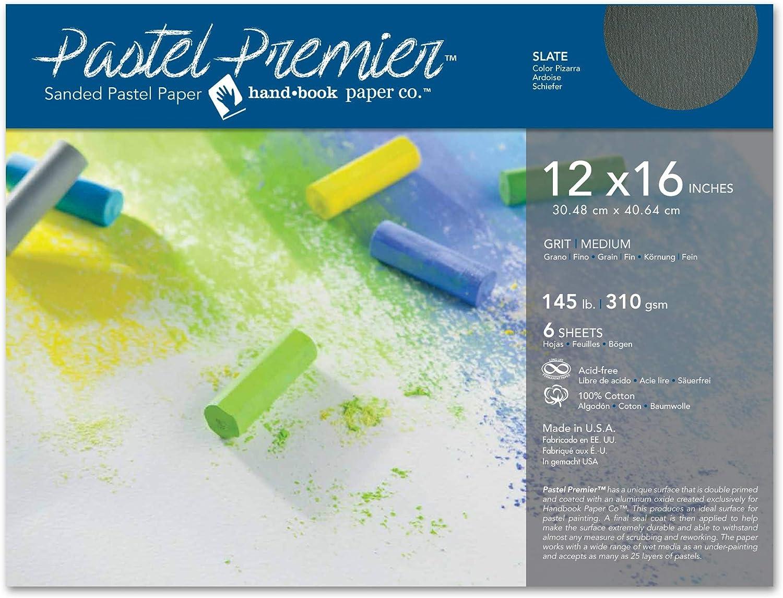 lo último Pastel Papel Premier pizarra 12x16 6   Hojas Hojas Hojas  El nuevo outlet de marcas online.