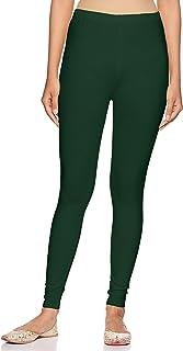 Rupa Softline Women's Leggings (SLA09BTL Green FS)