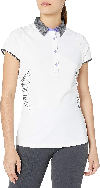 Cutter Buck Women's Moisture Wicking Import Afto Max 46% OFF 50+ UPF Cap-Sleeve