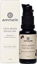 Annmarie Skin Care Anti-Aging Facial Oil - Moisturizing Face Oil For Dry or Mature Skin with Jojoba Oil, Goji Berries + Chia Seed Oil (15ml / 0.5 fl oz)