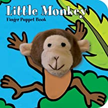 Little Monkey: Finger Puppet Book: (Finger Puppet Book for Toddlers and Babies, Baby Books for First Year, Animal Finger Puppets) (Little Finger Puppet Board Books)
